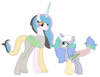 MLP Next Gen: Artistverse You're So Tall Sis! by Blueberry-MLP