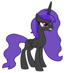 MLP NG: Artistverse Princess Nightmare Shadow by Blueberry-MLP