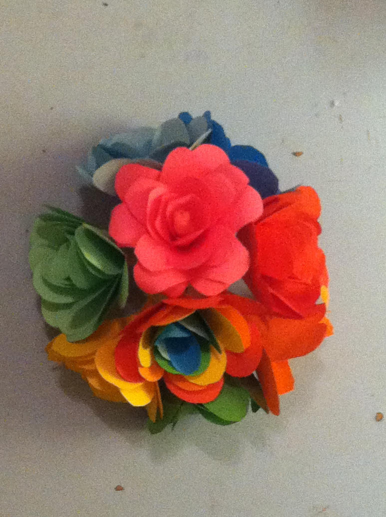Origami Flower #1 by Loveycupcake