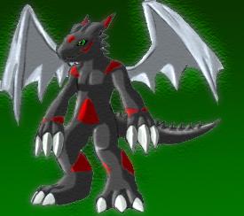 My Digimon Iblismon by DoomOverlord