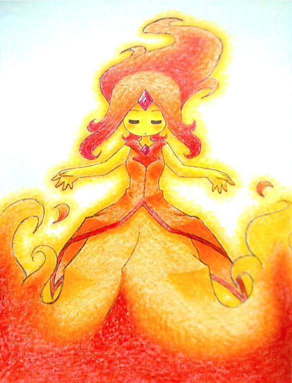 The Flame Princess by Matsy23