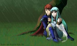Under the Rain PC Background by Ryu-Ka