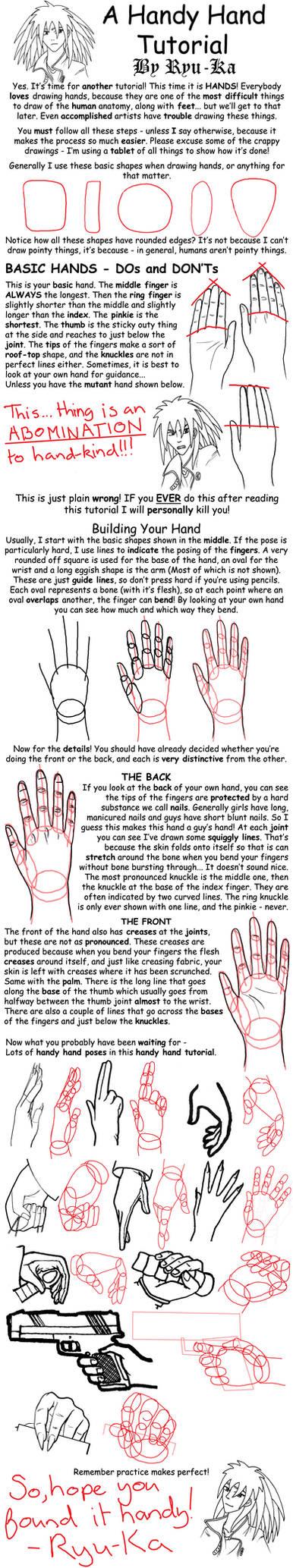 A Handy Hand Tutorial