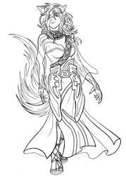 Nailah - Queen of the Desert by Ryu-Ka