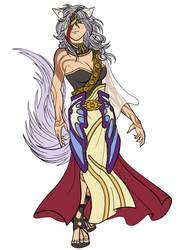 Nailah, Queen of the Desert II by Ryu-Ka