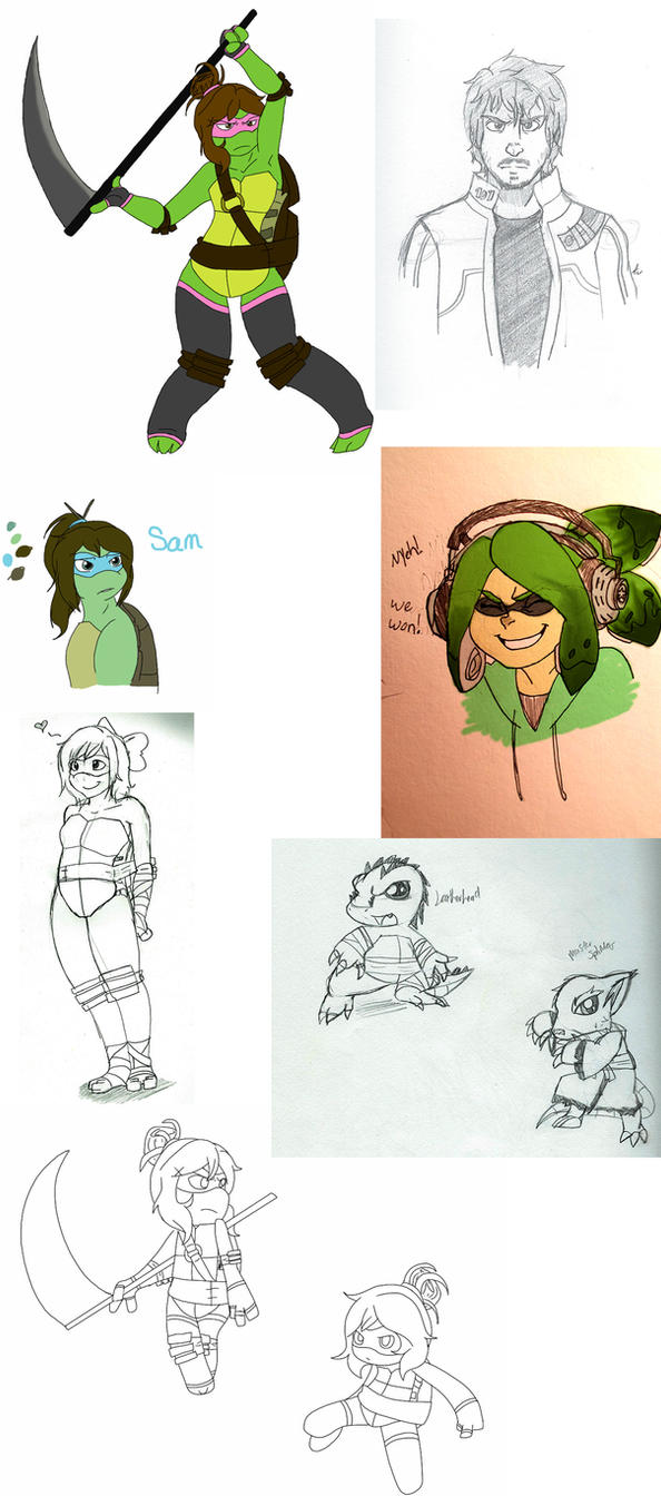 Sketchdump 2015 by MegaRaphael17