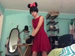 KH Queen Minnie Keyblader Cosplay by StrawberryToon