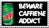 caffeine addict: stamp by godofallgodofdeath