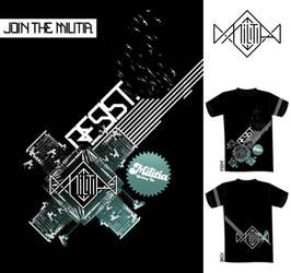 Malitia T-shirt 2 by phadeone