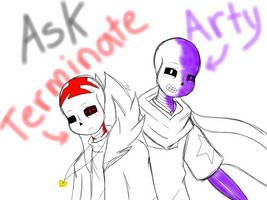 Ask Arty and Terminate! by TheSkeletonKid