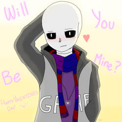 Will you be mine...? [VALENTINES DAY] by TheSkeletonKid