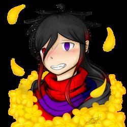 An edgy flower