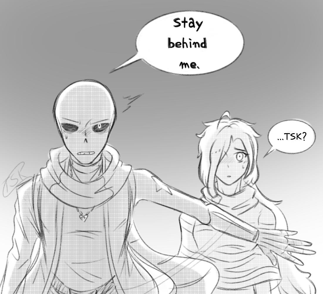 Stay Behind Me [WWCP]