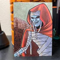 Mumm-ra Sketch Card