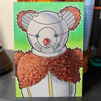 Ro-Ber-Bill Sketch Card