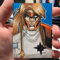 Shatterstar Sketch Card