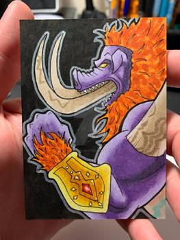 Beast Ganon Sketch Card