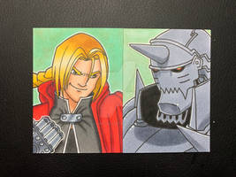 Ed and Al Sketch Cards