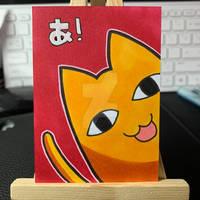 Azumanga Daioh Father Sketch Card
