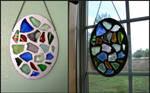 Stained Glass Window by Udavrajati