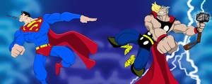 Supes vs. Thor