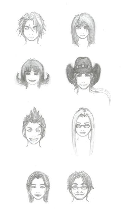 FFVIII: Familiar Faces