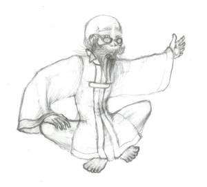 FFVII: Bugenhagen - Sketch