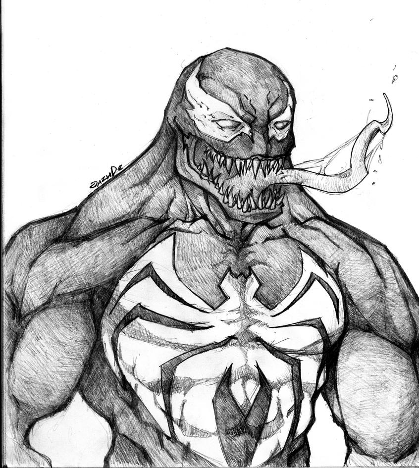 Marvel: Venom by JazuDe on DeviantArt