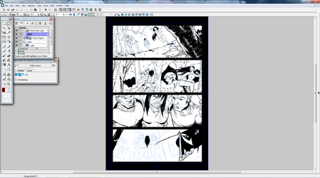 Totem page 6 WIP part 3 by dubbery