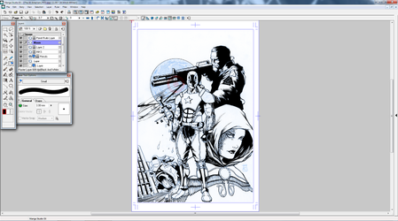 Advent cover Wip part 3 by dubbery