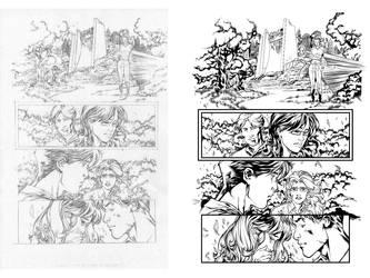 Ken Lashley Flash 02 INKERS CHALLENGE by dubbery