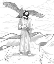 Zoroastrian Divinities: Verethragna by Maria-Bazhatarnik