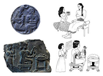 The Elamite Reliefs by Maria-Bazhatarnik