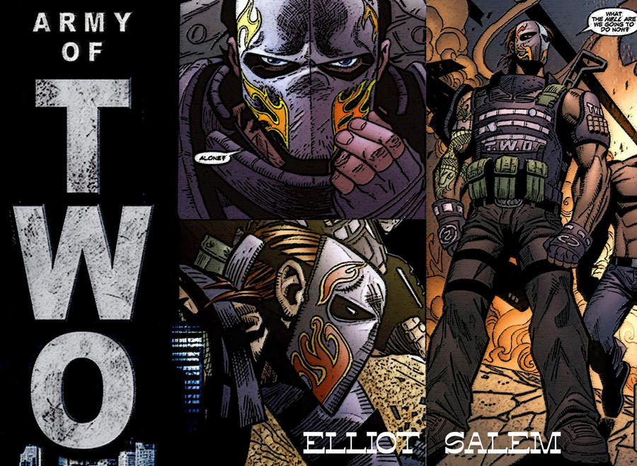 Elliot Salem Army Of Two By Valedargotem