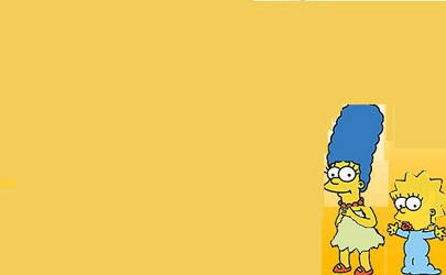 The Simpsons-Young Marge and Older Maggie by nickyyckin