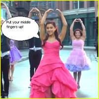 Ariana Grane-Put your Middle Fingers up by nickyyckin