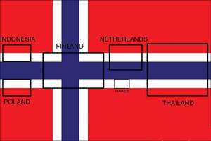 Origin of the Flag of Norway by nickyyckin