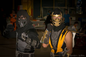Noob - Scorpion | Mortal Kombat by EddieMW