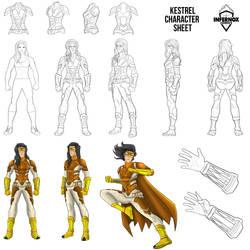 Kestrel Character Sheet- Small- Twins Vega