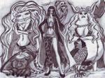 Gorgon Sisters by Ferchozaki