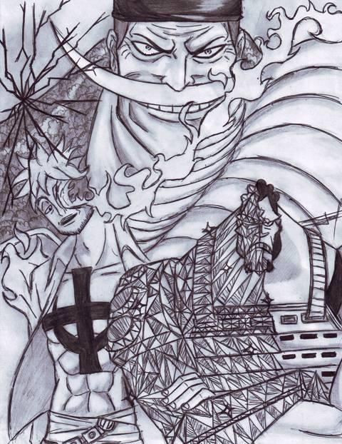 Whitebeard Pirates by Ferchozaki