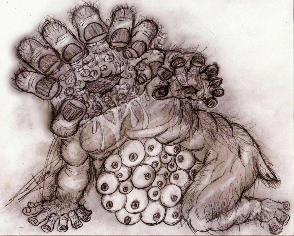 Monstrosity of Sin by Ferchozaki