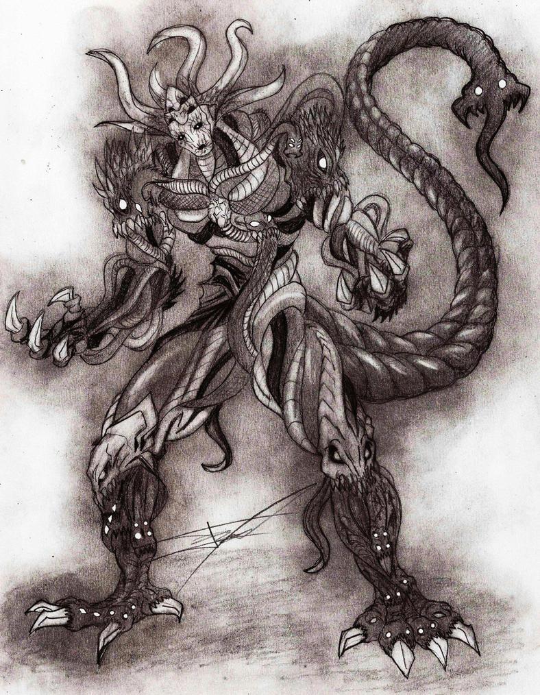 Monster King Orochi by Ferchozaki