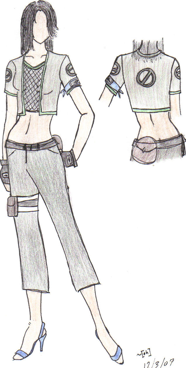 Female Shikamaru Outfit by AkemiH-Tan