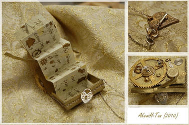 Steampunk Matchbox: Details by AkemiH-Tan