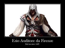 Ezio Auditore da Firenze, Badass since 1459 by MLazar127