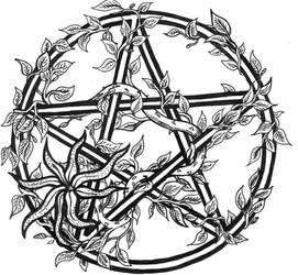 Pentagram by Tiggi-Stones