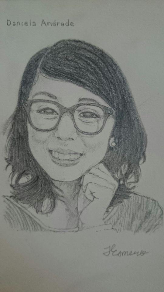Daniela Andrade Sketch by GallantDrifter