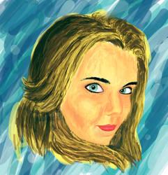 Colored Portrait by SirDorius