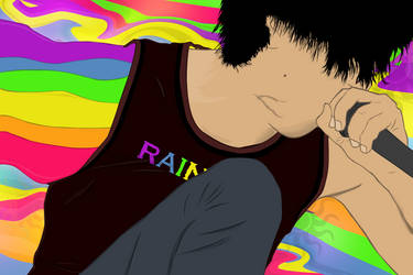 Rainbow singer